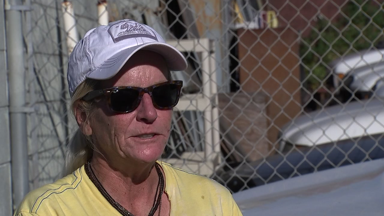 Jane Parisi has been homeless for a year and works two jobs.