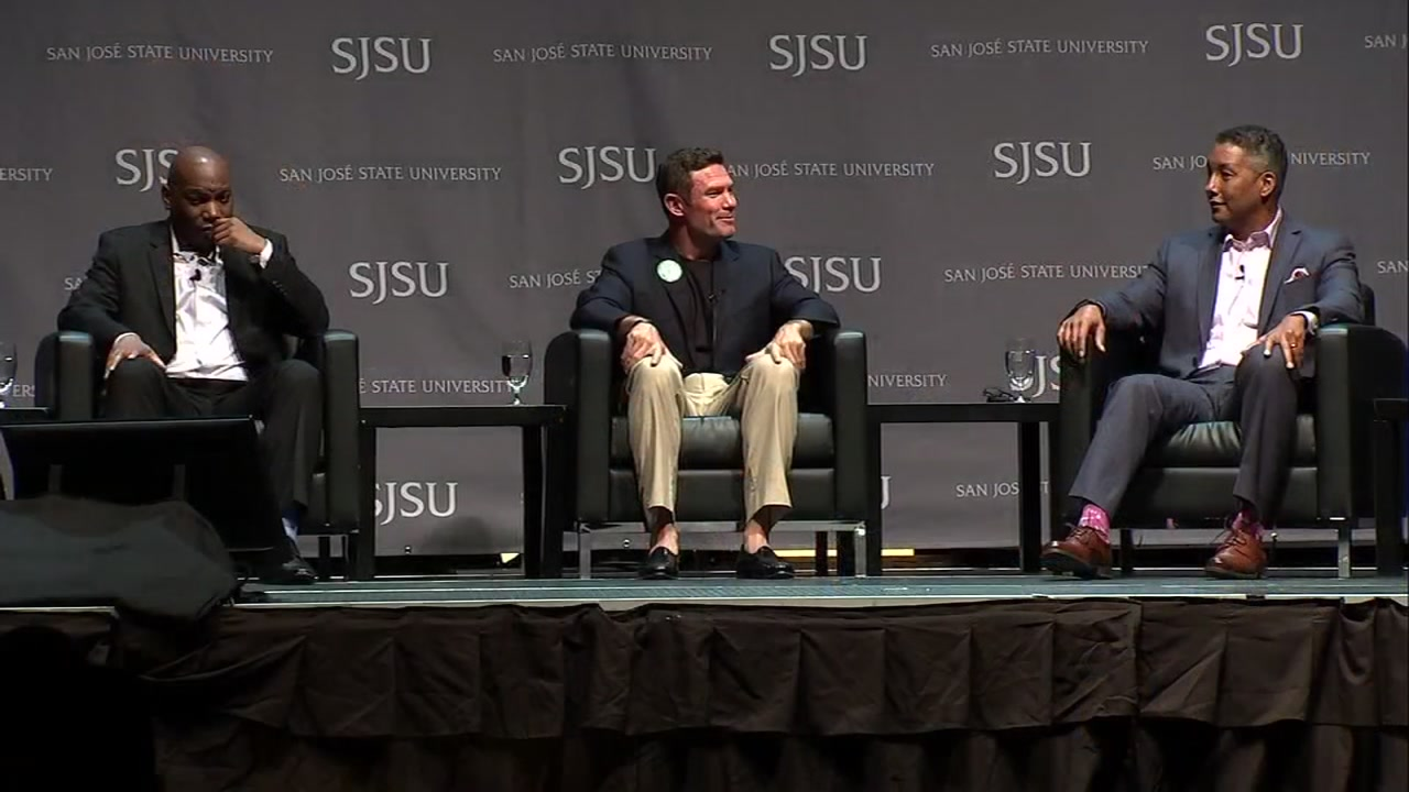 SJSU celebrates 50 years of athlete activism; Smith and Carlos return to campus