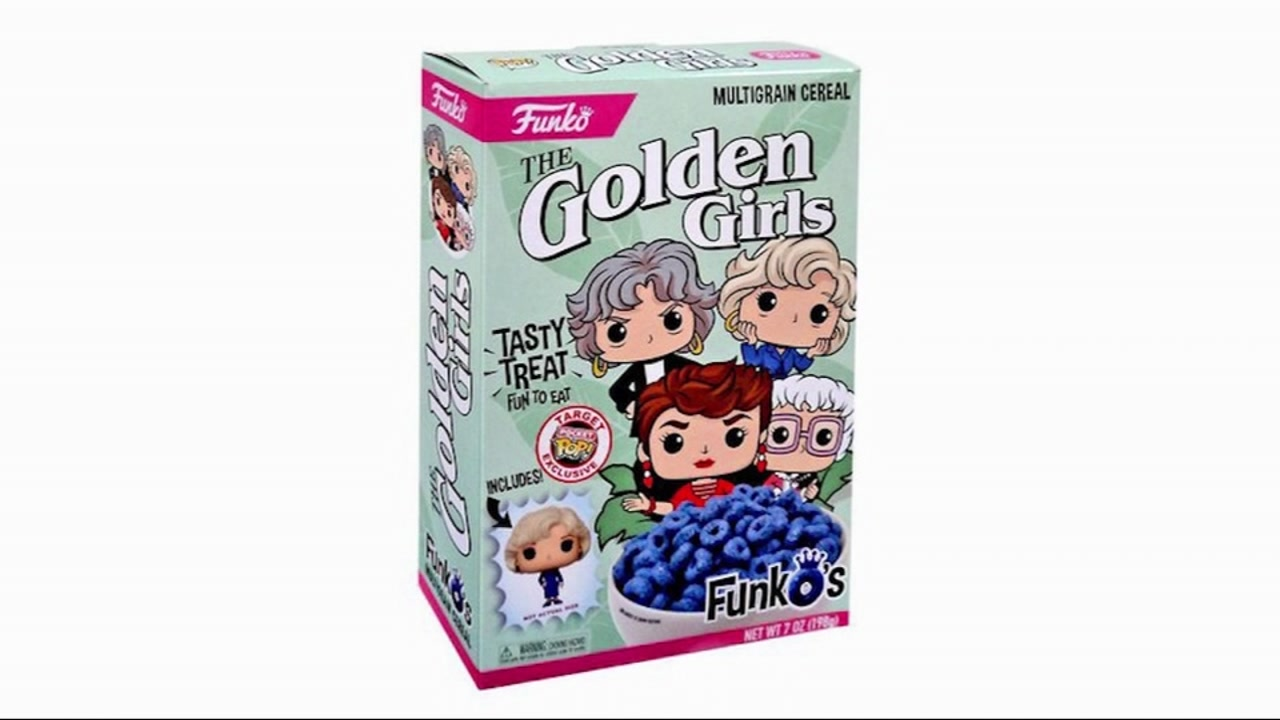 Target stores now selling Golden Girls cereal