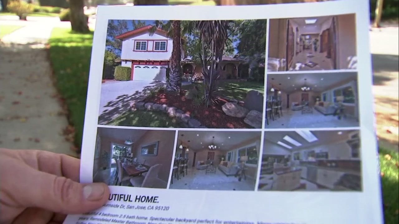 A flier for a house for sale in San Jose, Calif., on Oct. 18, 2018.