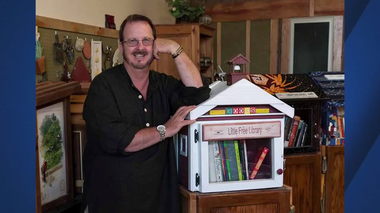 Todd Bol, founder of the Little Free Library movement, has died at 62.