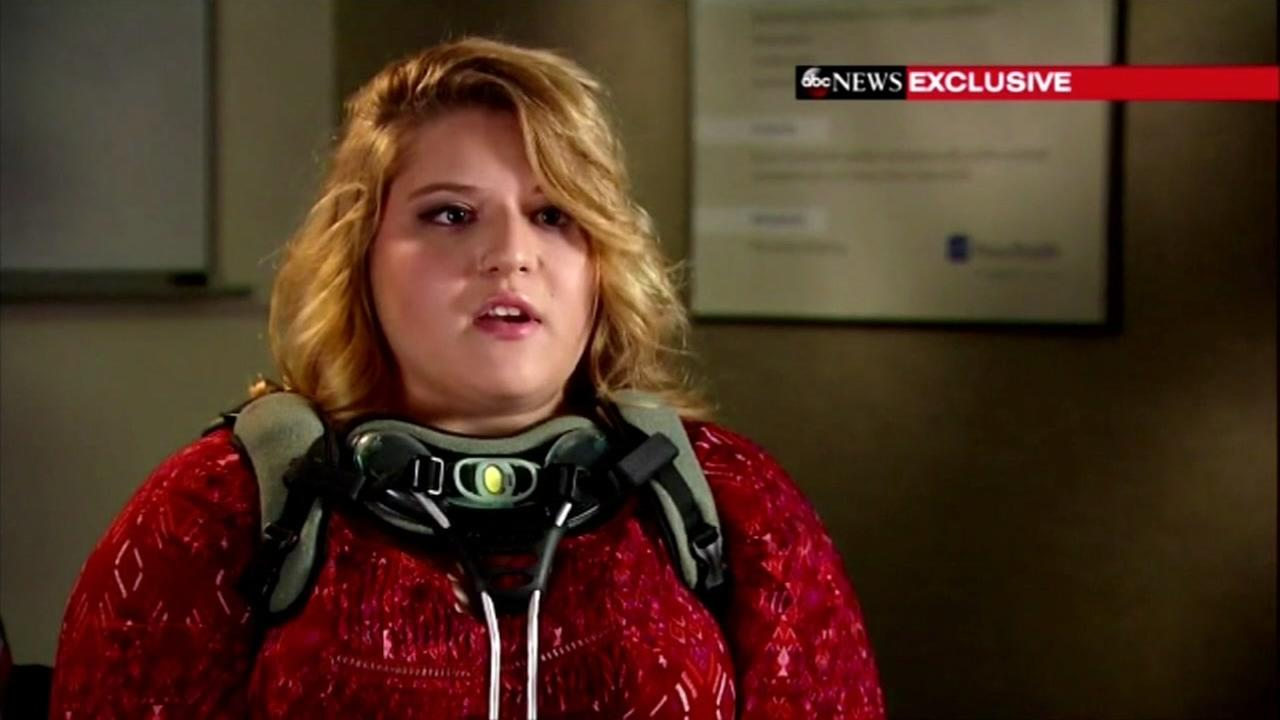 Anastasia Boylan, 18, explains how she survived the deadly Oregon shooting in an exclusive ABC News interview.