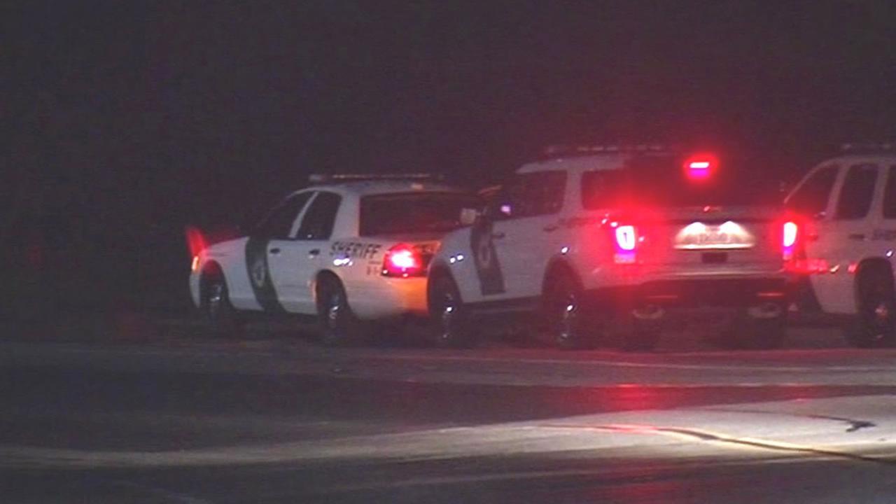 Marin County Sheriff cars