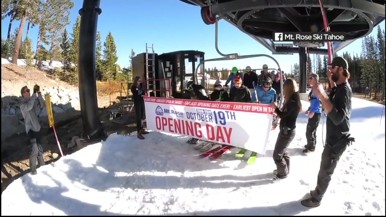 Believe it or not, the Northern California ski season is actually here! One Lake Tahoe resort, Mt. Rose, actually opened one run Friday.