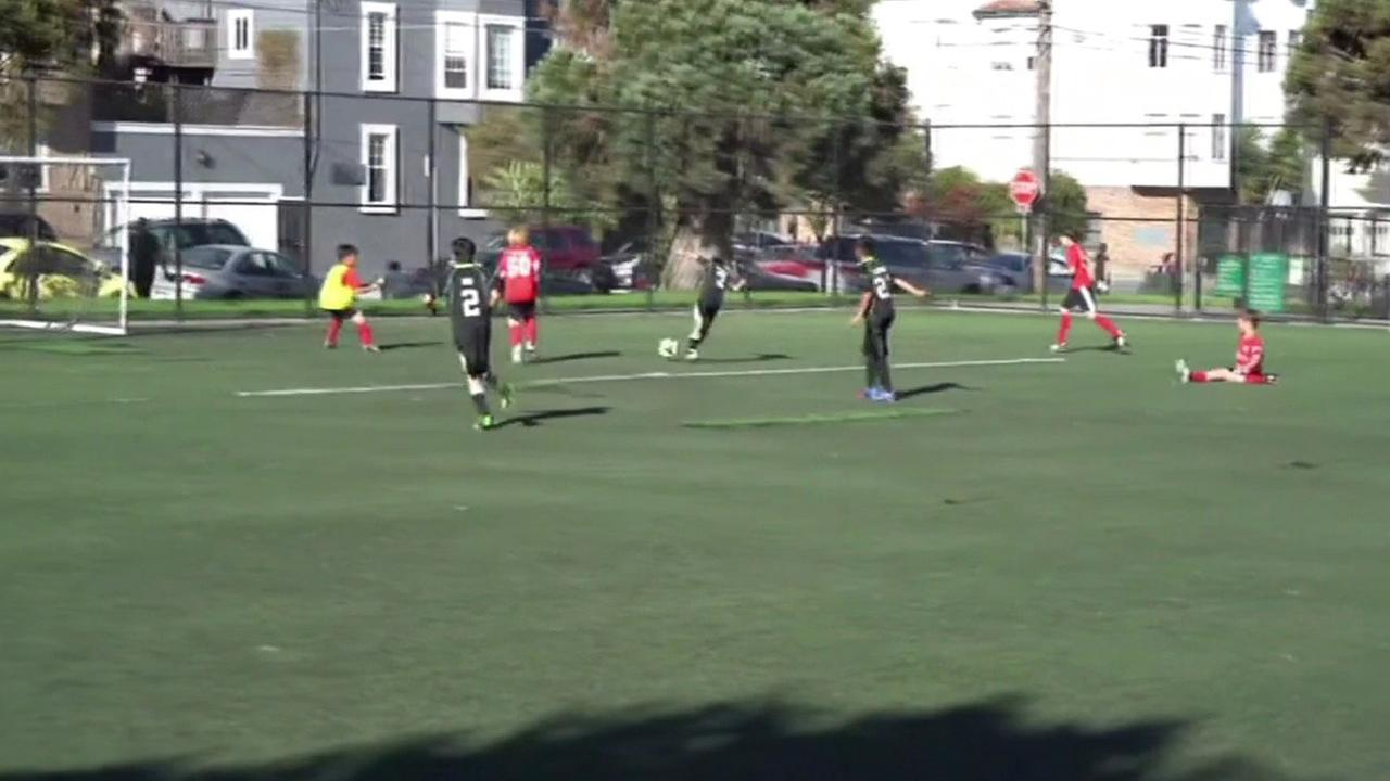 San Francisco Youth Soccer league.