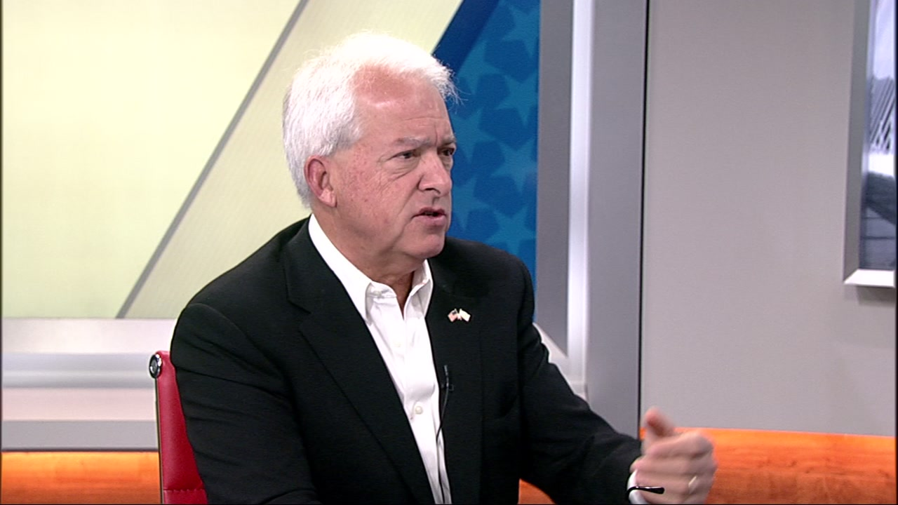 California governor candidate John Cox at ABC7 News studios in San Francisco on Monday, October 22, 2018.