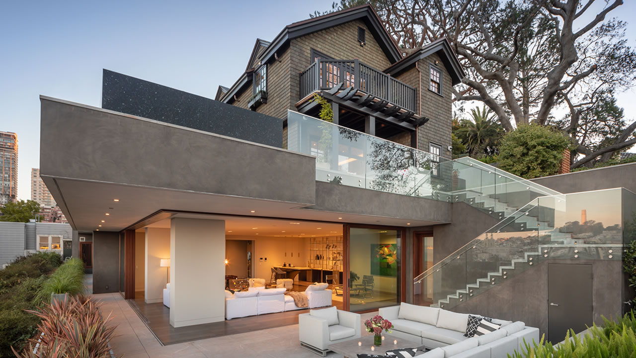 This San Francisco home is on the market for $45 million.