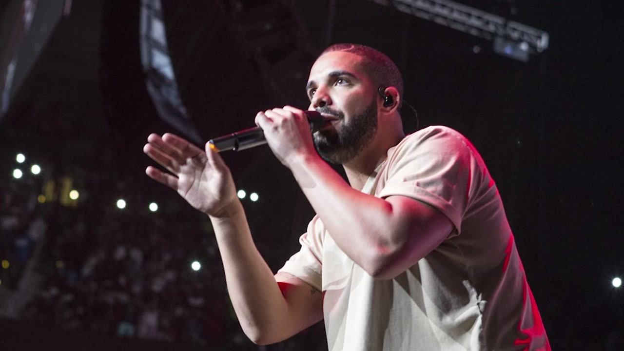 Drake is pictured during a performance in this file photo.