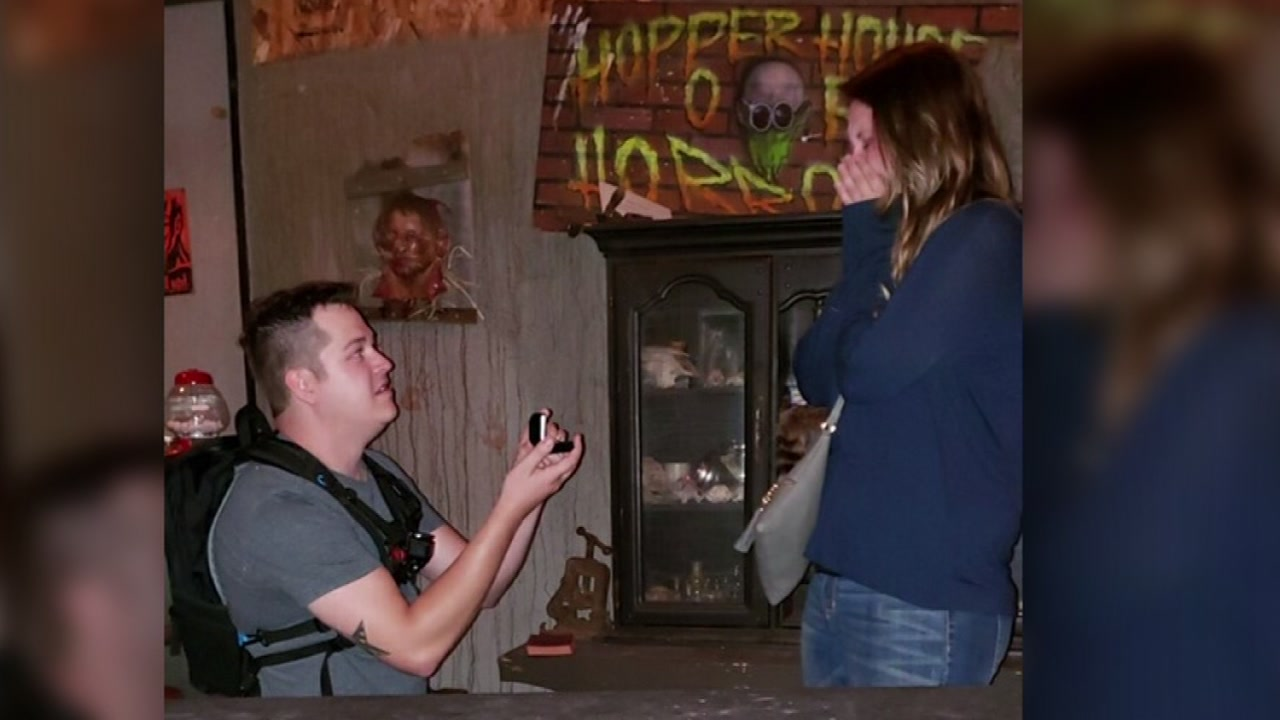A trip to a local haunted house proved to be more special than spooky for one North Bay couple!