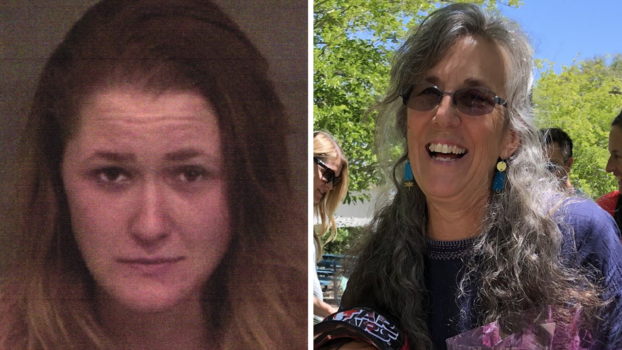 Authorities says, Paula Elizabeth Drake (left) is accused of hitting and killing Marin County teacher Debra DiBenedetto (right) while driving under the influence of alcohol.