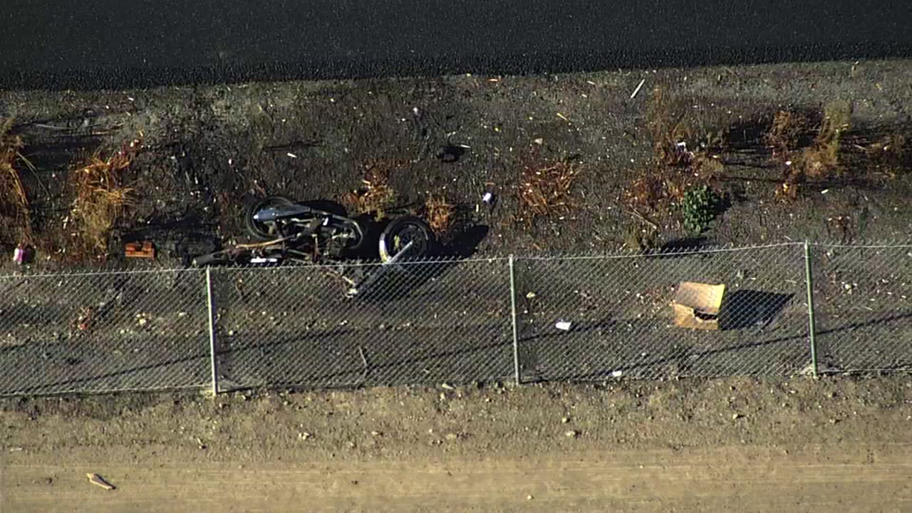 Crash involving motorcycle on I-880 in Hayward, California on Wednesday, October 31, 2018.