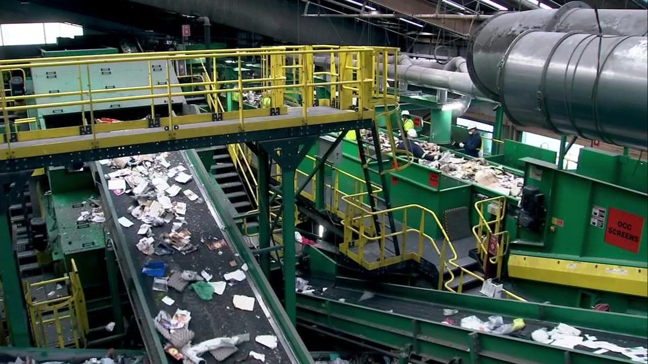 Ever wonder where your recycling goes in San Francisco? Step inside Recologys San Francisco Pier 93 plant.