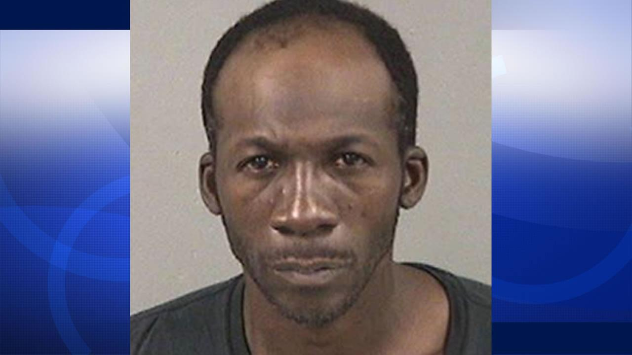 Oakland resident Antwan Johnson, 40, has been accused of setting Halloween costumes on fire inside a San Leandro Walmart, Oct. 13, 2015.