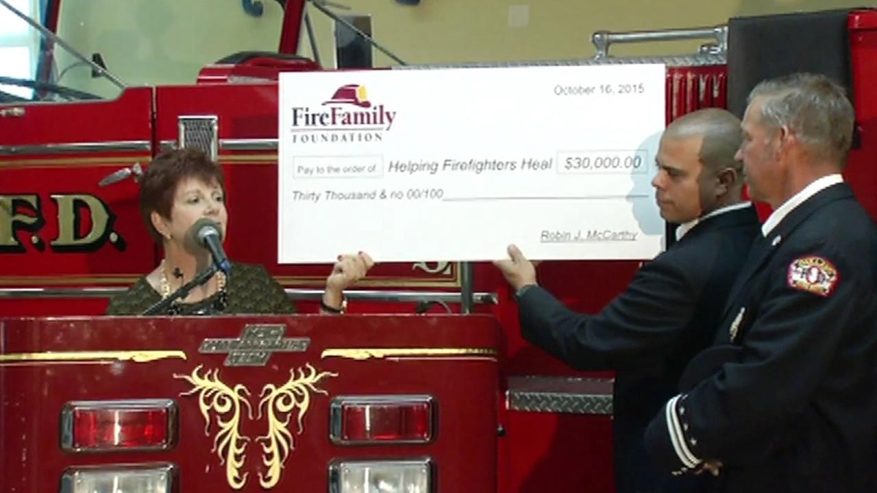 On October 16, 2015, the Oakland Fire Department and Firefighters First Credit Union announced that $30,000 has been raised to help firefighters who lost their homes to wildfires.