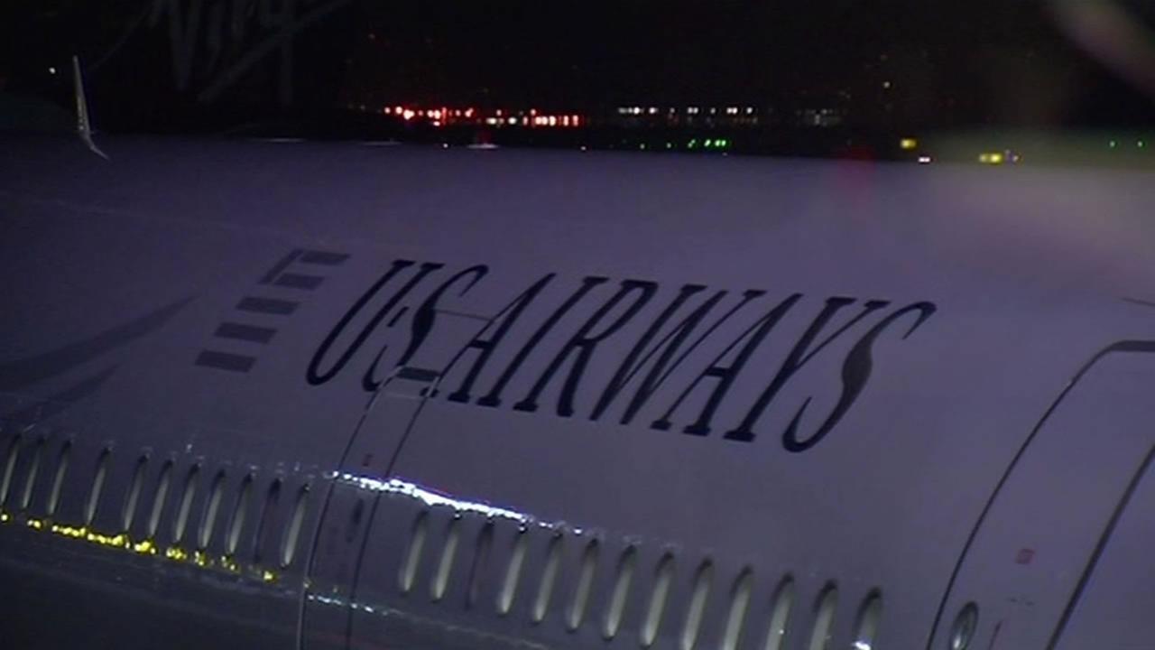 U.S. Airways flew its final flight out of SFO Oct. 16, 2015.