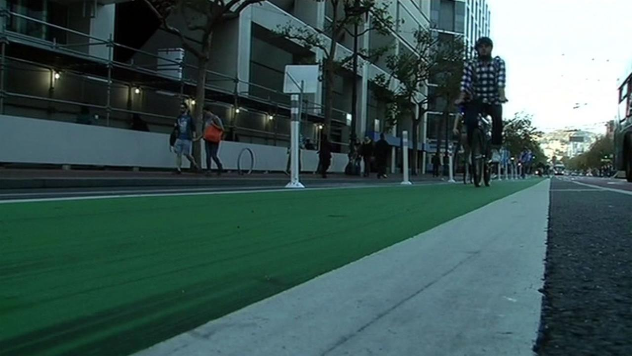 Big changes are coming to the bike lanes on Market Street in San Francisco to make the lanes safer for bicyclists.