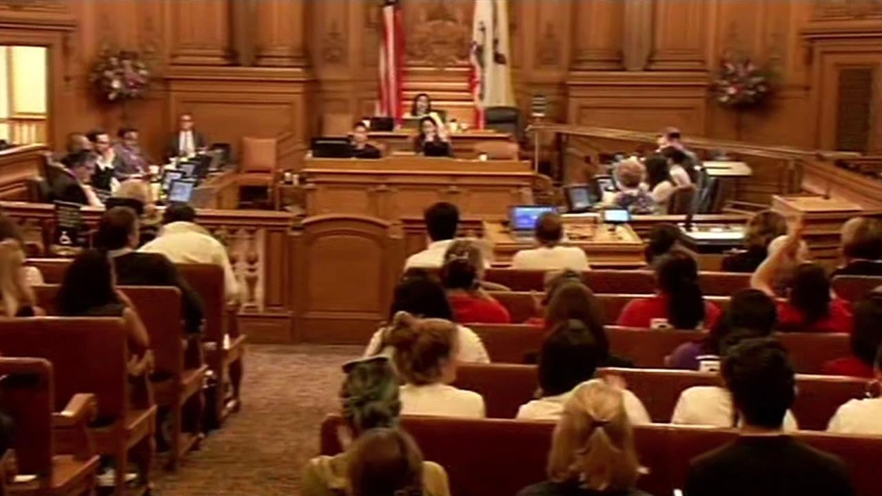 For the first time since the shooting, San Franciscos supervisors took a look at the sanctuary city policy on Tuesday, October 20, 2015.