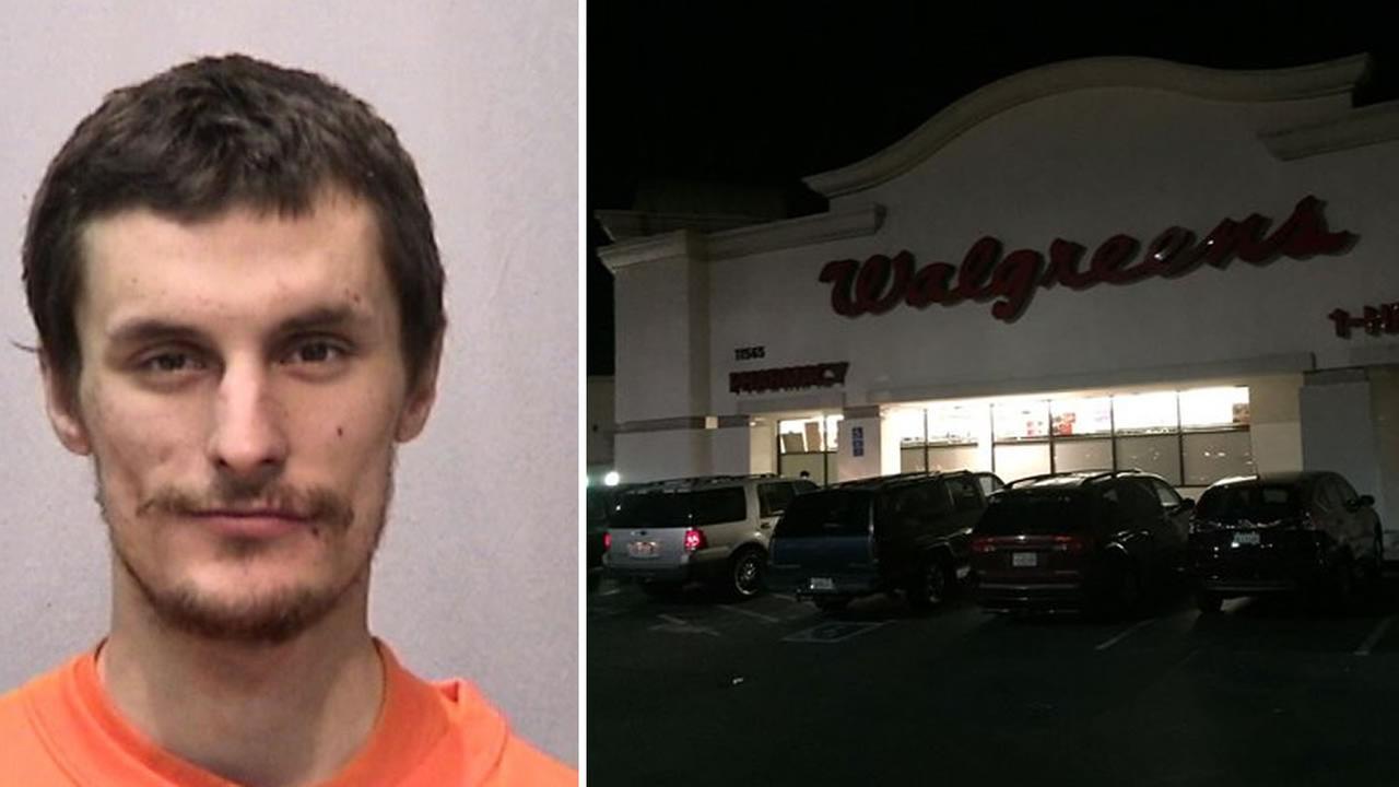El Cerrito police have accused Edwin Barron, 29, of wielding a hatchet and breaking into a El Cerrito, Calif. Walgreens, November 2, 2015.