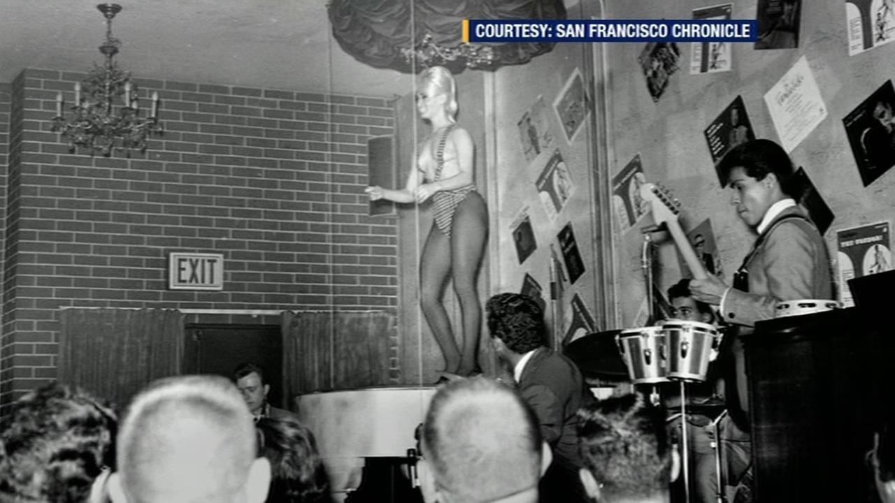 This undated photo shows legendary topless dancer Carol Doda. The San Francisco icon died of kidney failure on Monday, November 9, 2015.