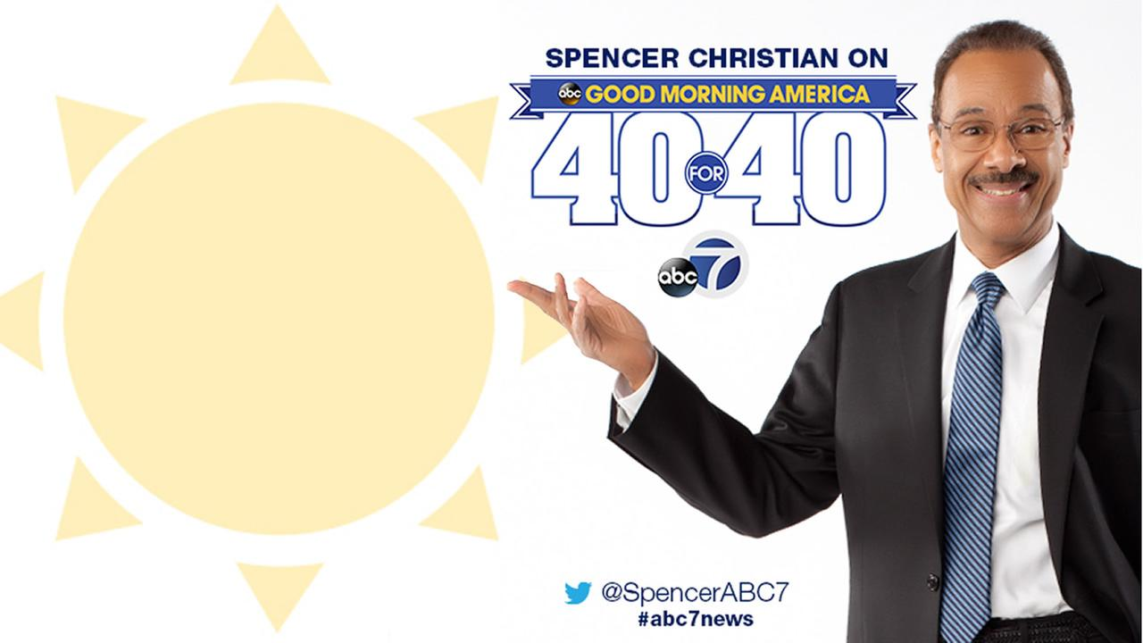 Spencer Christian on 'GMA' for 40th anniversary celebration - WATCH LIVE