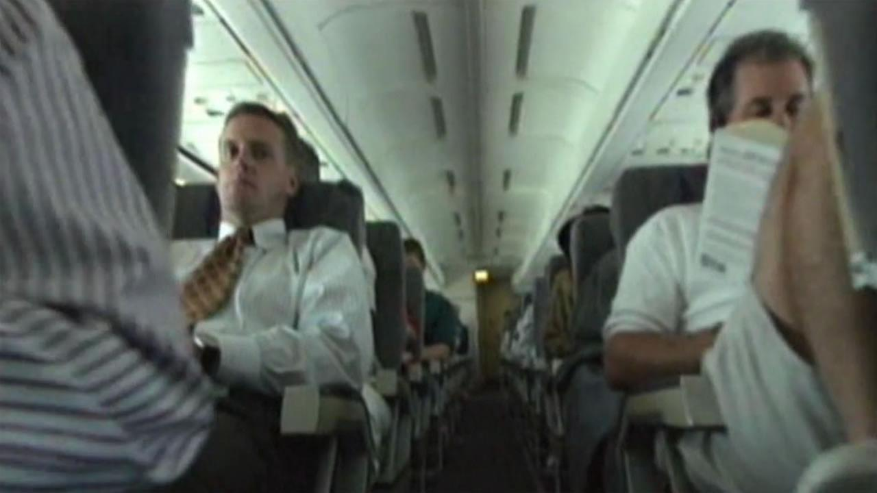 Conde Nast survey reveals which US airlines offer most legroom