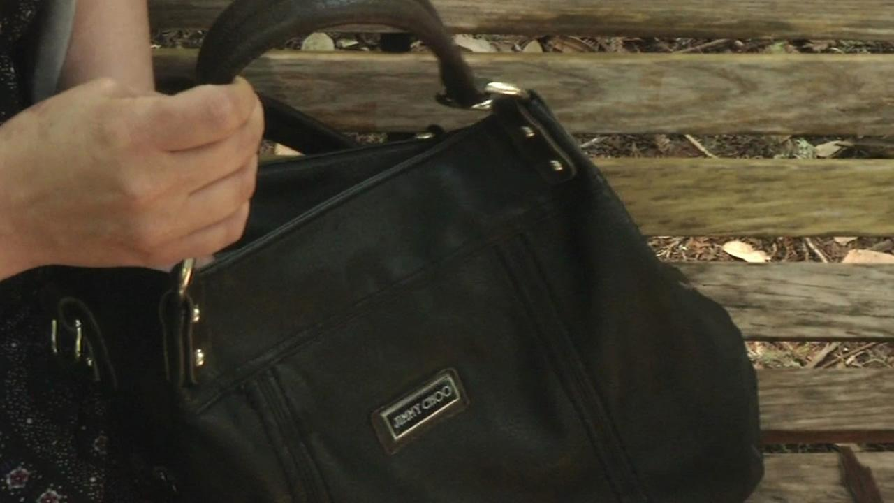 A woman who found a diamond ring in a purse she bought at a Buffalo Exchange in Berkeley is looking for the rings rightful owner.