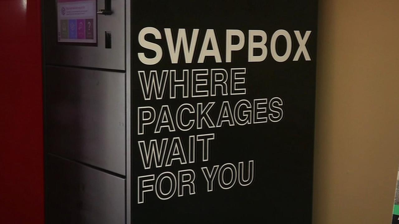 This Swapbox logo is seen in San Francisco on Wednesday, November 25, 2015.