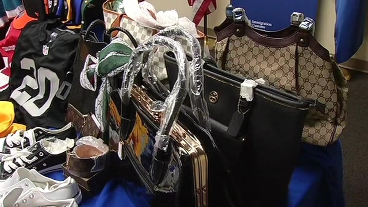 counterfeit items purses and other items
