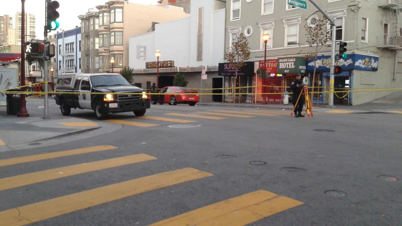 police  investigate car crash