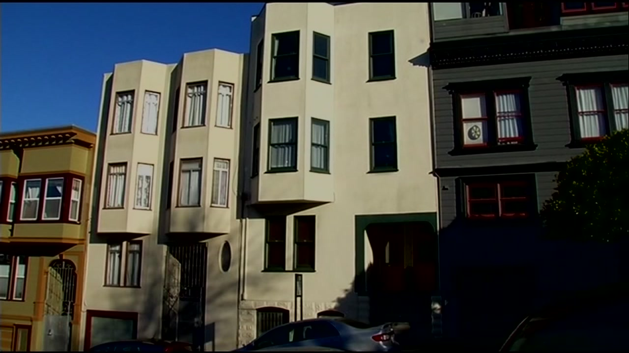 An apartment building is pictured in San Francisco in this undated file photo.
