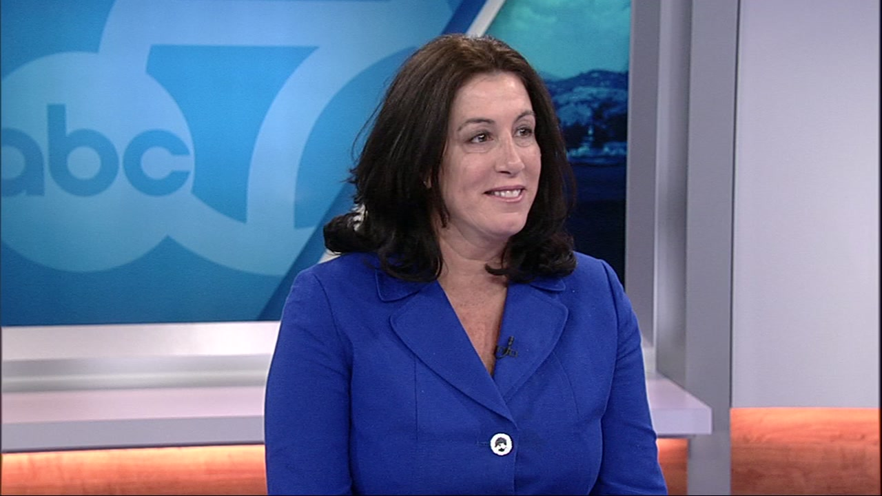 Christine Pelosi spoke to ABC7 News Kristen Sze on Wednesday, Nov. 7, 2018.