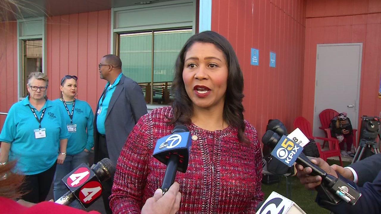 San Francisco Mayor London Breed speaks about Proposition C on Wednesday, Nov. 7, 2018.