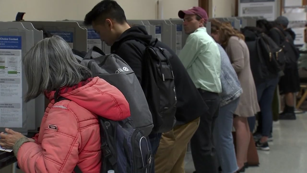 San Francisco residents cast their vote on Tuesday, Nov. 6, 2018.
