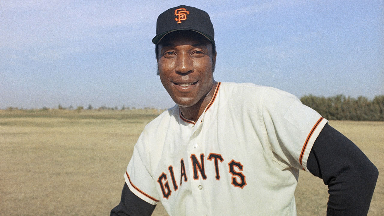 San Francisco Giants infielder Willie McCovey in an undated photo.