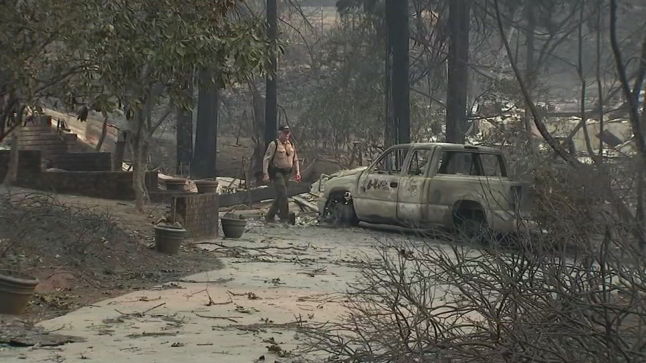 There is devastation at almost every corner in the Butte County community of Concow. Many homes wiped out by the Camp Fire as it made its deadly march through Northern California.