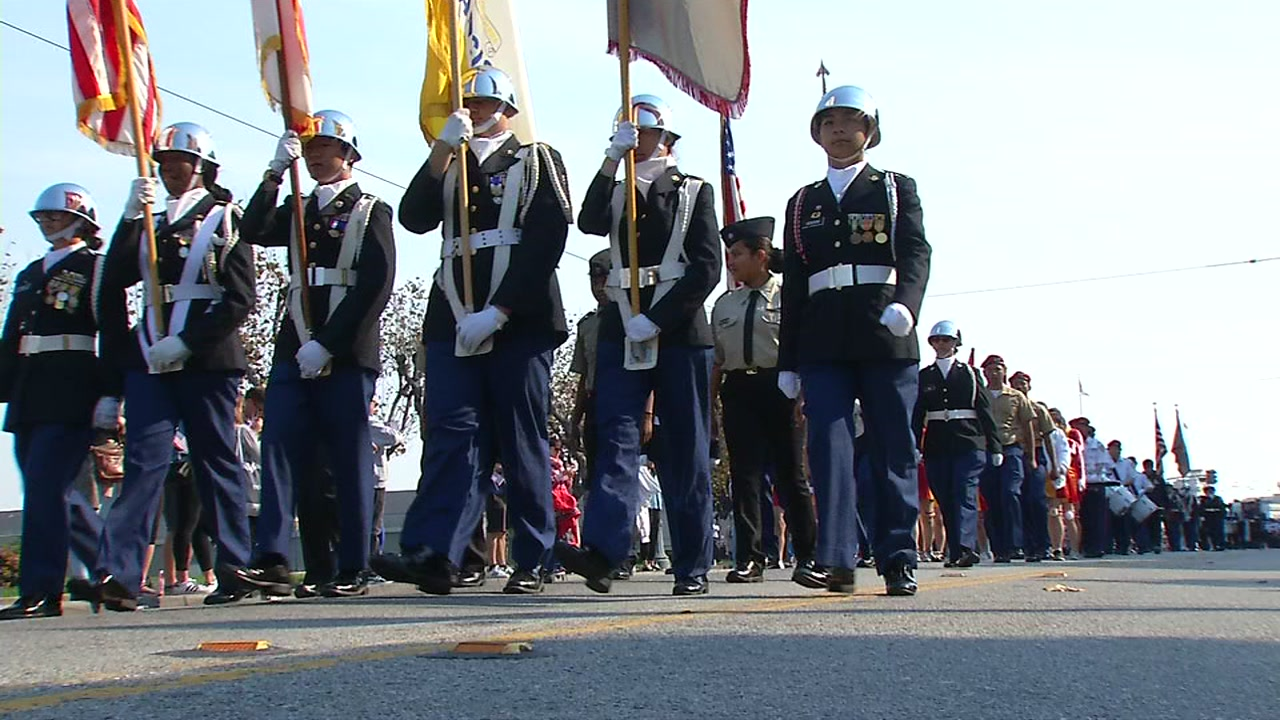 Crowds lined the streets in San Jose and San Francisco for Veterans Day parades to honor our brave men and women in uniform.