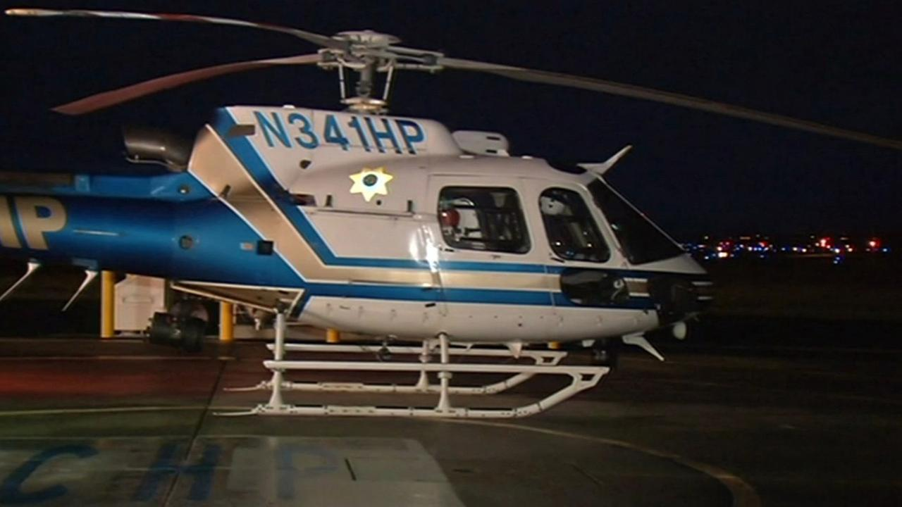 FILE -- CHP helicopter