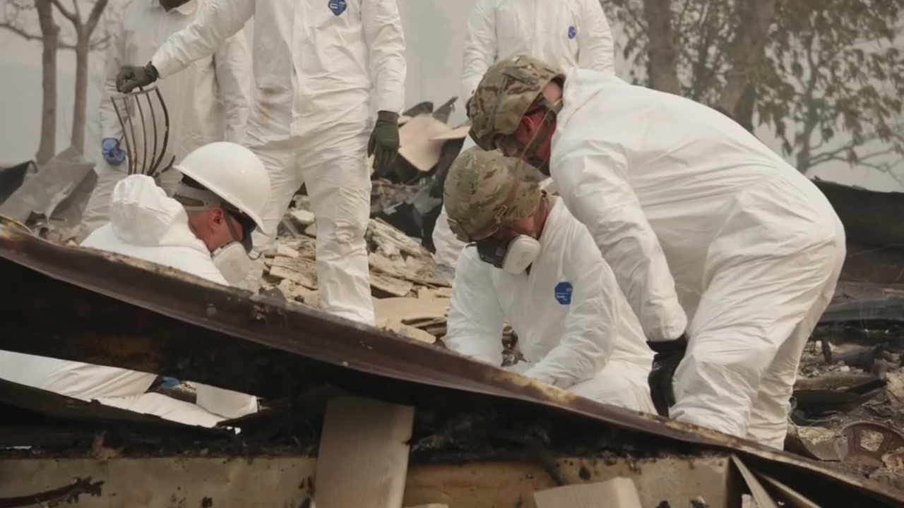 The death toll in the Camp Fire has risen to 56 after eight more bodies were discovered Wednesday, officials said.