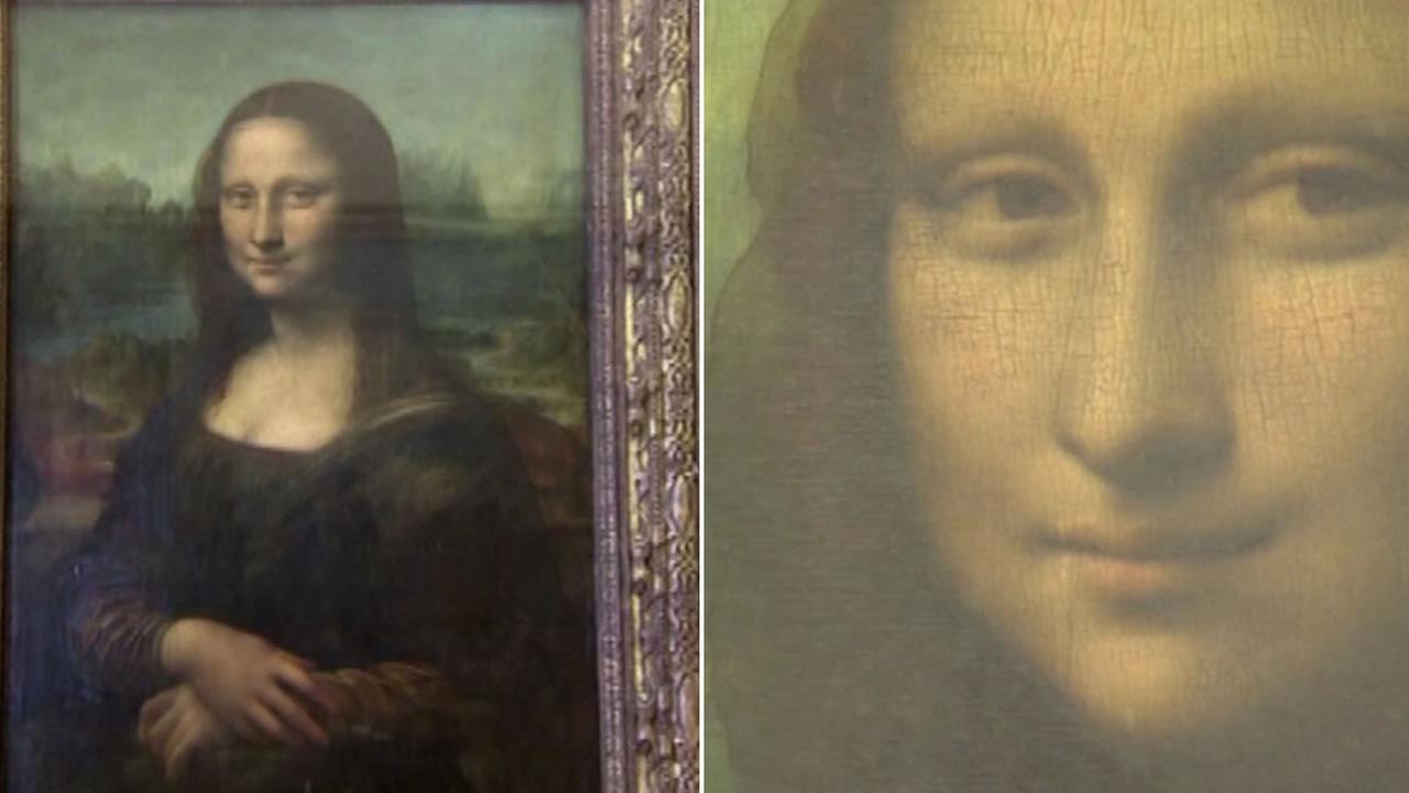 This undated image shows Leonardo da Vincis Mona Lisa painting.