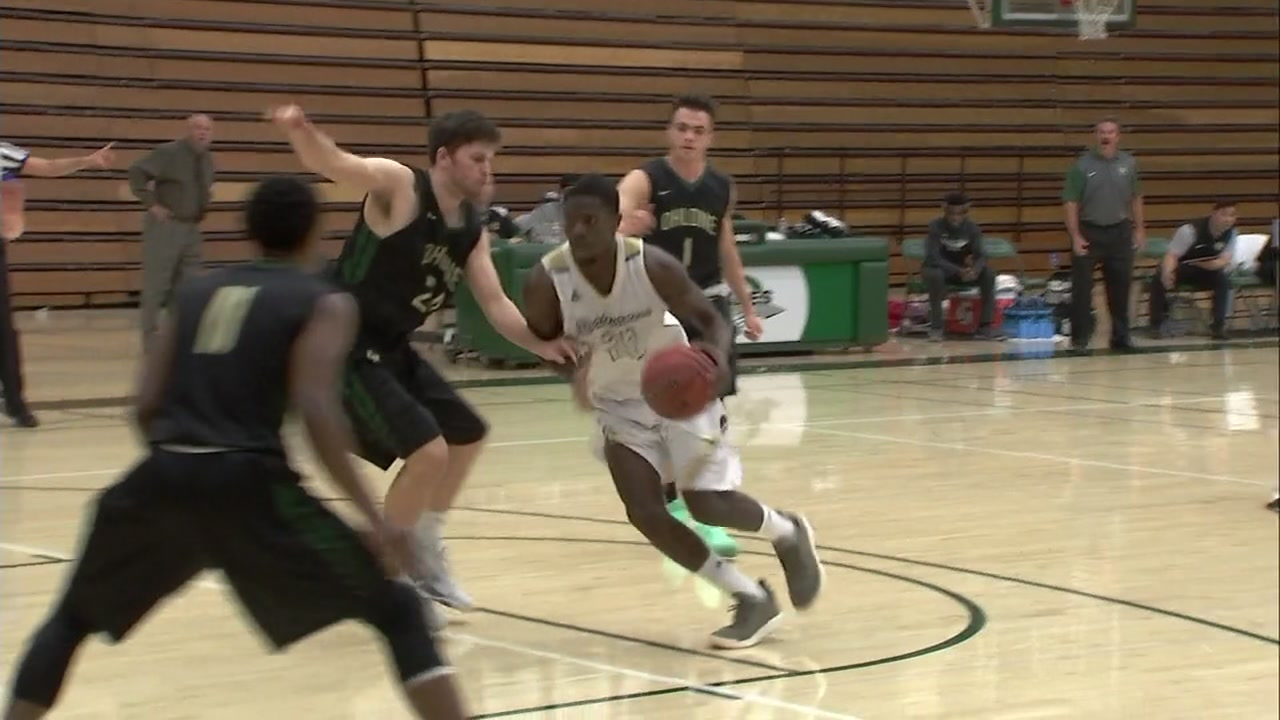 Butte College has been closed because of the fire. Tuesday night, their mens basketball team hit the court, not just for a win, but for their community.