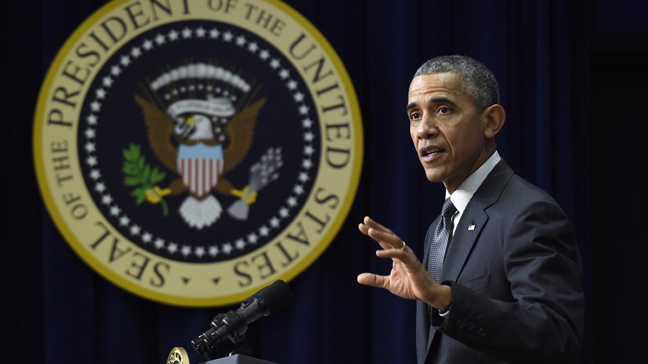 President Barack Obama in Washington on Thursday, Dec. 10, 2015.