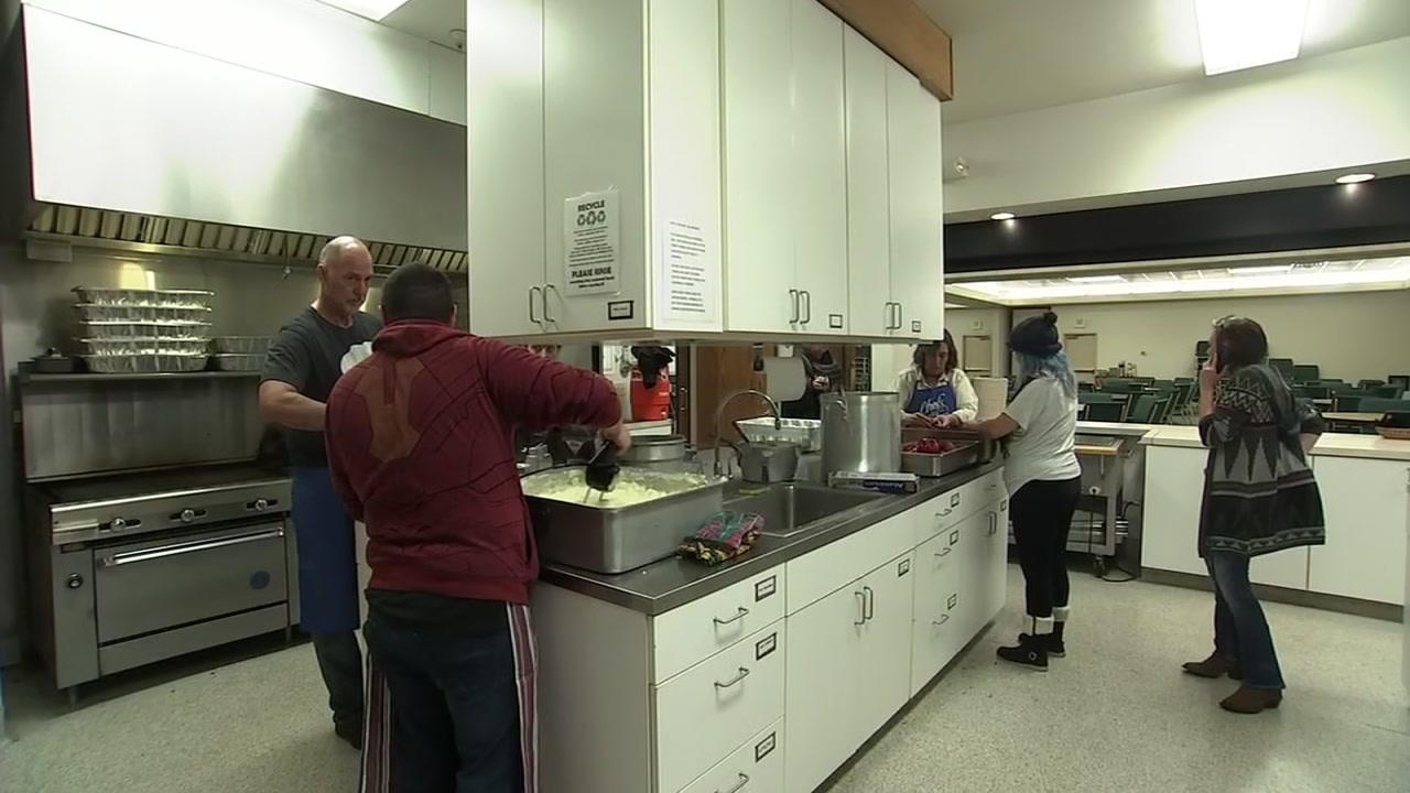Volunteers have been working non-stop to get thousands of Thanksgiving meals ready for Camp Fire evacuees.