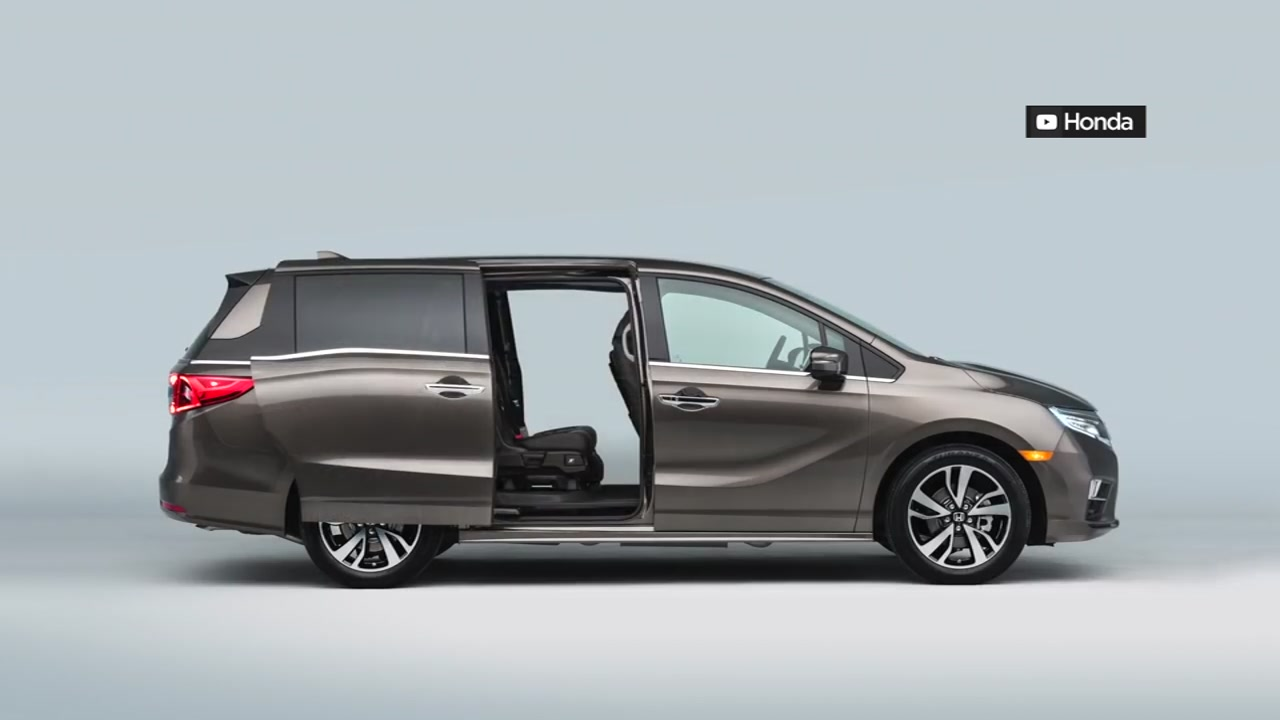 A Honda Odyssey is pictured.