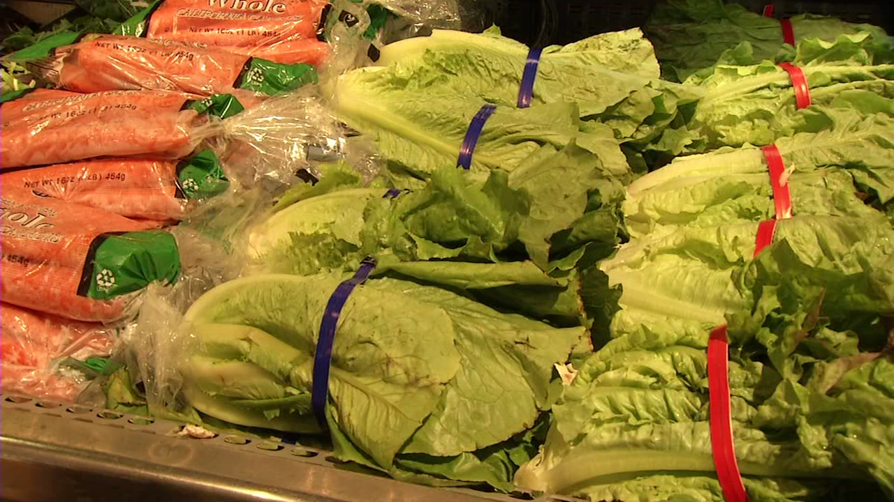 The CDC is telling people to not eat any romaine and throw it out if you have it.