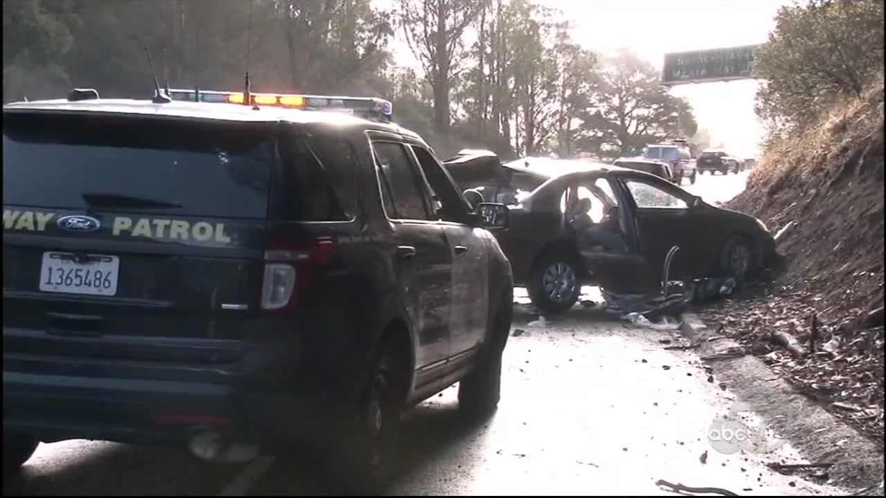 The CHP says when the first rain of the season fell last week, they responded to more than three times as many crashes in Marin as the same time last year.