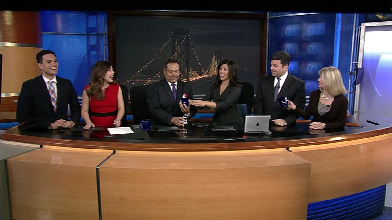 Eric Thomas and Kristen Sze and the ABC7 News team welcome Reggie Aqui and Natasha Zouves to the morning show.