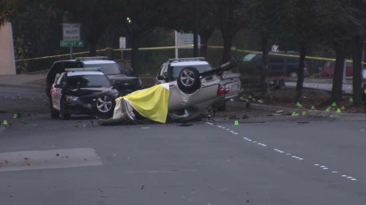 Crash in San Pablo, California on Tuesday, November 27, 2018