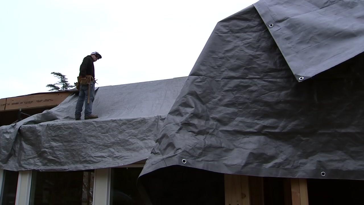 Crews are prepping for flooding as storms roll through the Santa Cruz Mountain area.