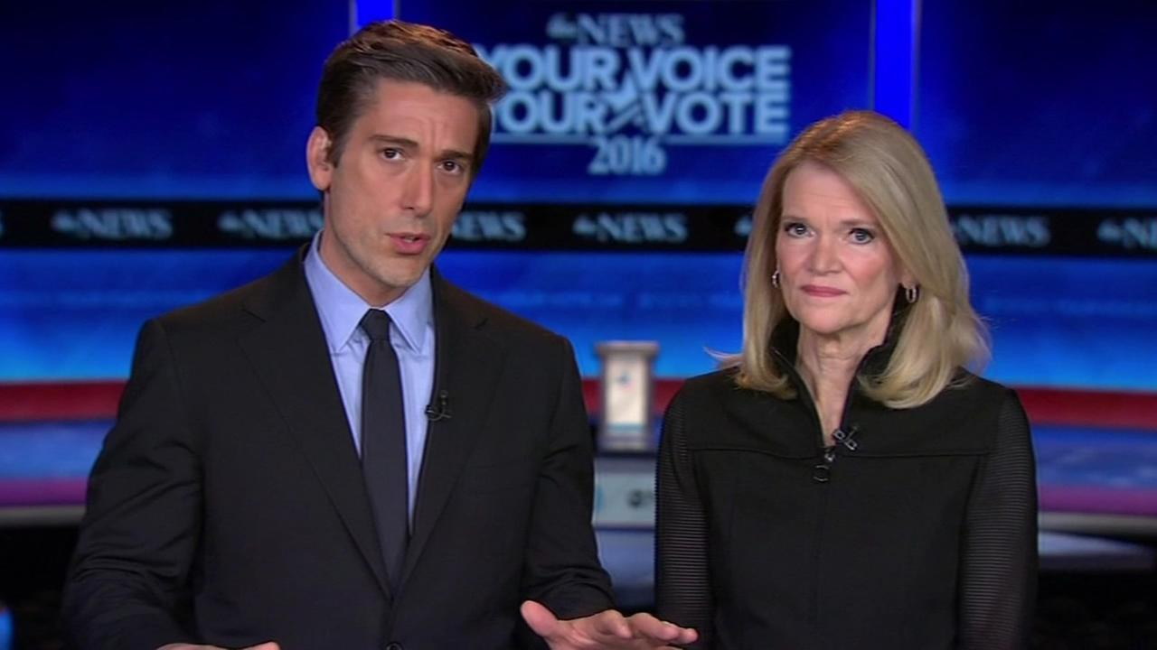 ABC News David Muir and Martha Raddatz will be moderating the Democratic presidential debate on Saturday at 5 p.m. in New Hampshire.
