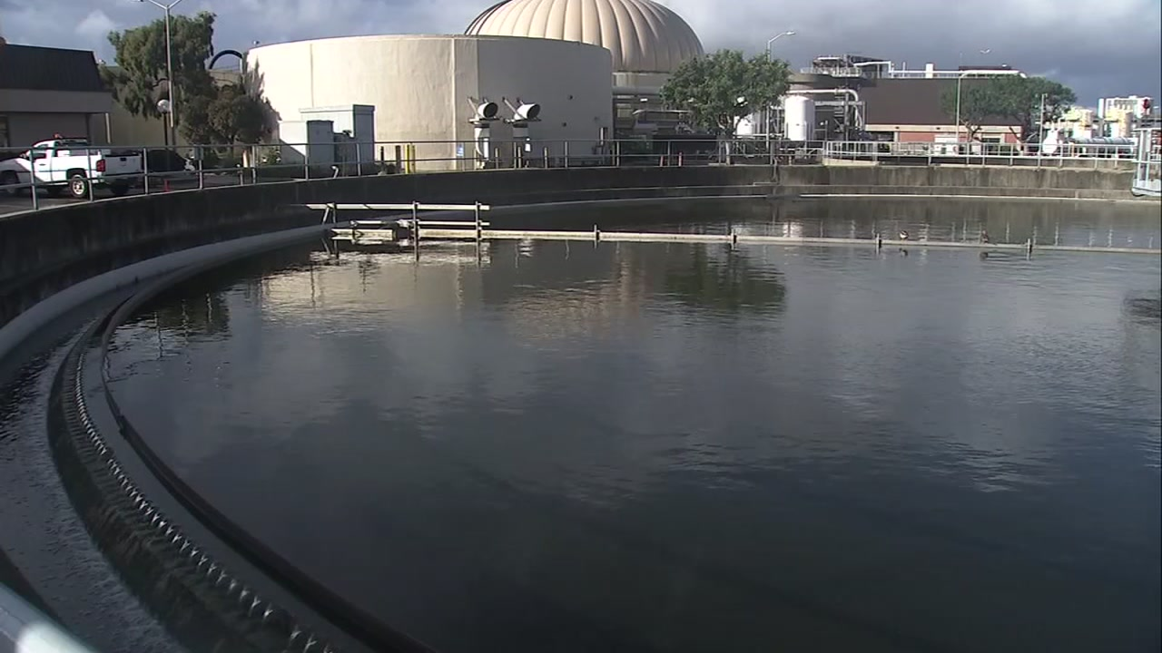 East Bay MUDs sewage treatment plant in Oakland on Nov. 229, 2018.